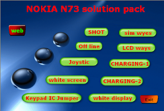 Nokia n73 Solution in executable software