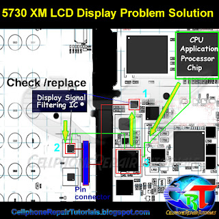 5730 display problem repair solution
