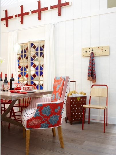 pretty things decor eclectic dining room chairs