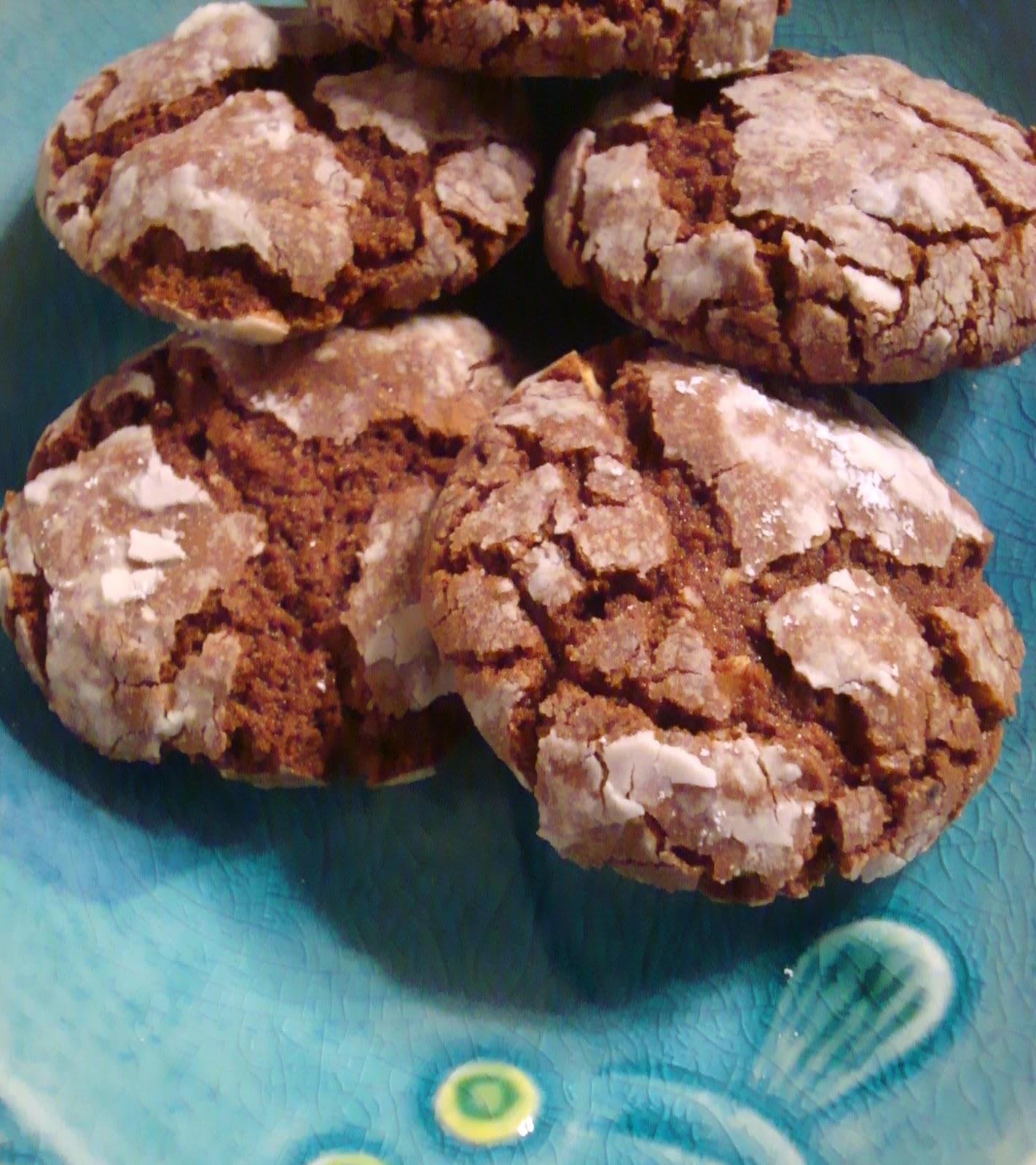 astheroshe 39 s hazelnut nutella crinkle cookies world. Black Bedroom Furniture Sets. Home Design Ideas