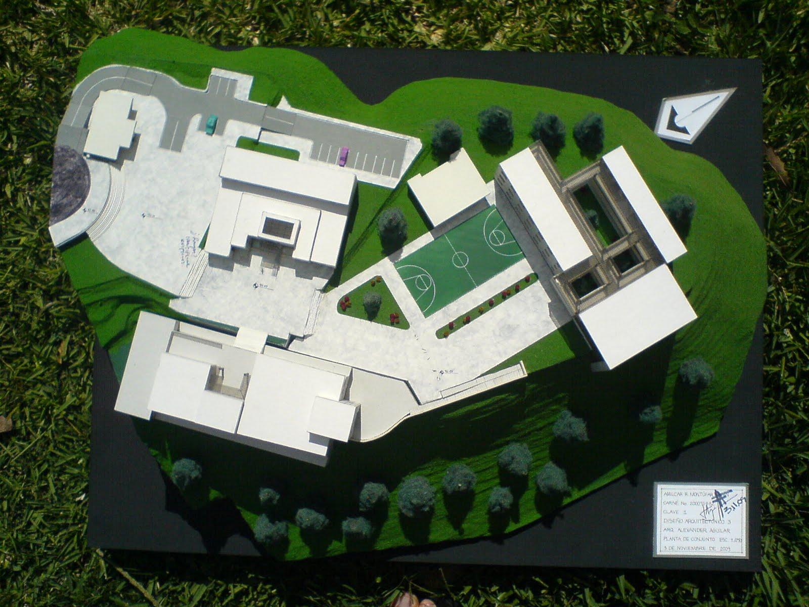 Dise o arquitect nico maqueta de dise o arquitect nico 3 for Plataforma de arquitectura
