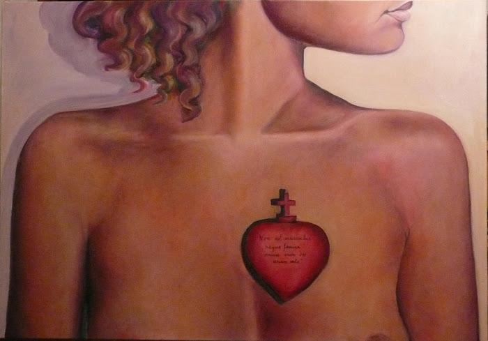 """L'auro expone con eklektik_art en la muestra itinerante """"La igualdad desde el corazón"""""""