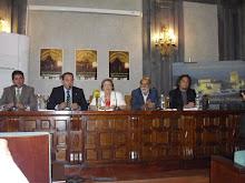 """Presentación de """"encuentros y desencuentros"""" en La Casa de la Provincia."""