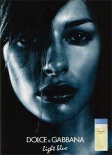 Dolce & Gabbana Light Blue for women Perfume da Rosa Negra Daniela Lopes top model