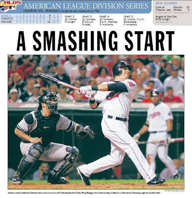 A Smashing Start -- Akron Beacon Journal 10/5/07