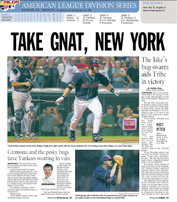 Take Gnat, New York -- Akron Beacon Journal 10/6/07