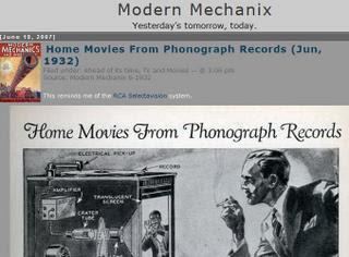 Modern Mechanix Blog