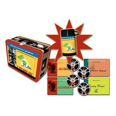 Educational Archives: Limited Edition Lunchbox (4 DVD Box Set)