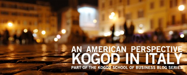 Kogod in Italy