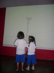 """Visita à exposição """"O Pequeno Principe"""" na Oca"""