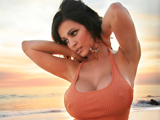 Sexy Beach Denise Milani