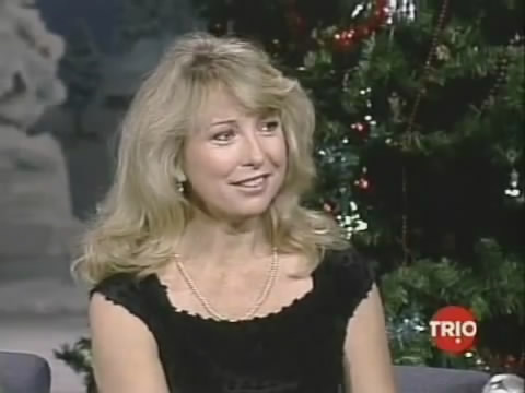 Teri Garr Late Night With David Letterman 1987 Celebs On TV
