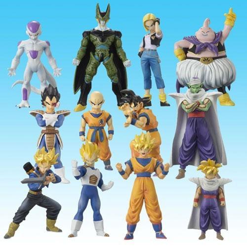 Dragon Ball Melee, juego de miniaturas Best+Selection