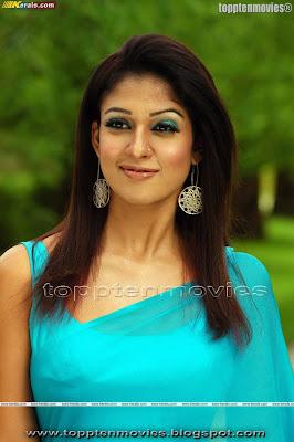 Nayanthara Exclusive Hot Saree Gallery