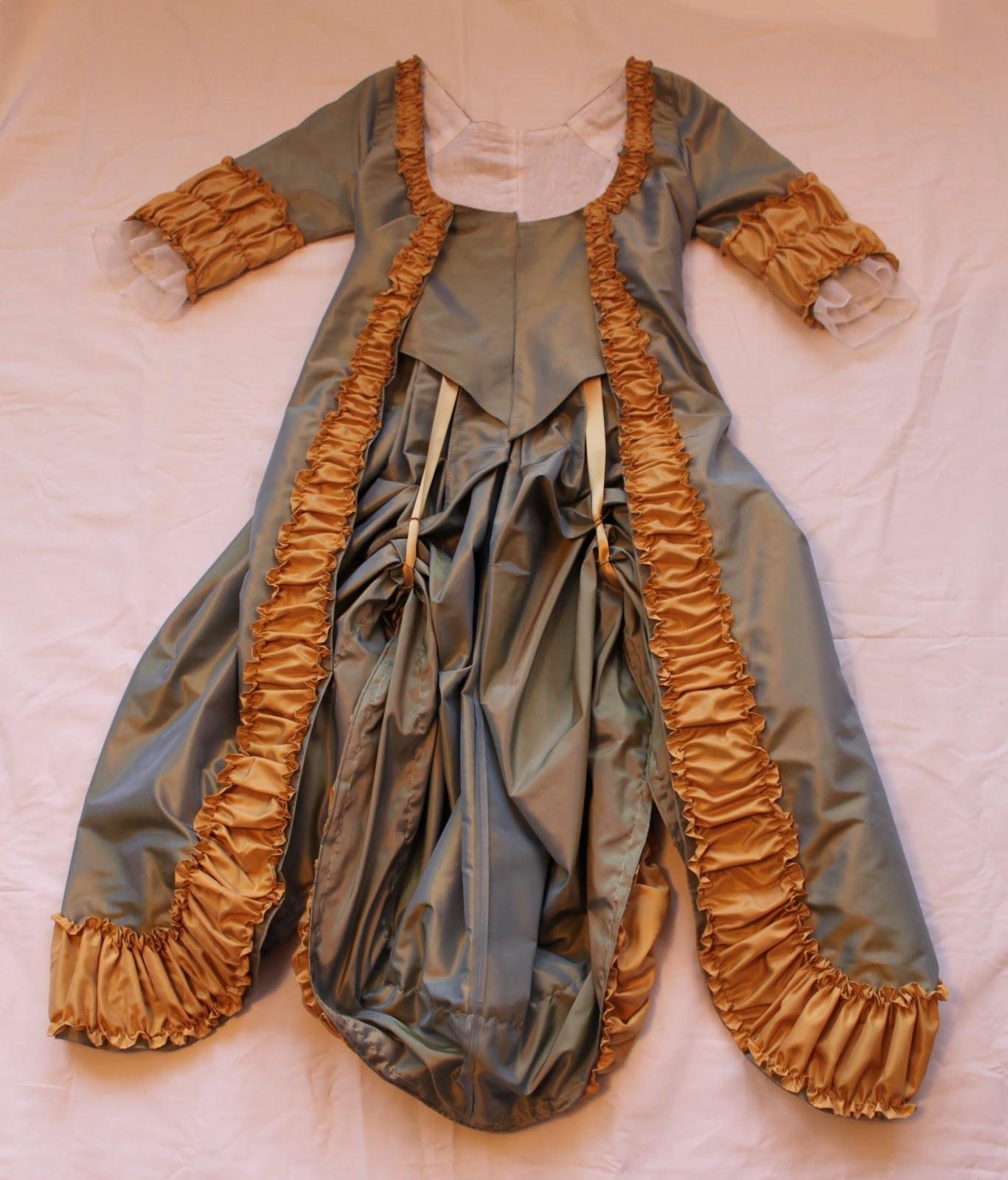 Robe A La Polonaise: Diary Of A Mantua Maker: Robe A La Polonaise