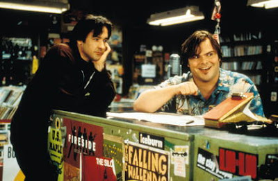 Jack Black and John Cusak in High Fidelity