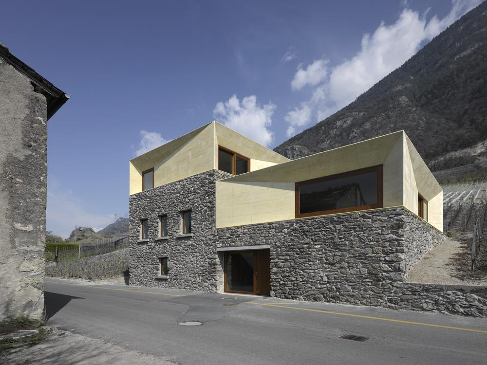 4 clavienrossier architectes a f a s i a. Black Bedroom Furniture Sets. Home Design Ideas