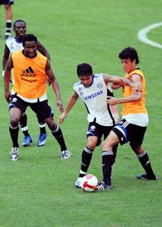 Chelsea's Asian Tour