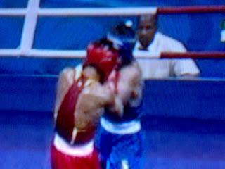 Beijing Olympics : Sergiy Derevyanchenknko Against Wang Jiangzeng