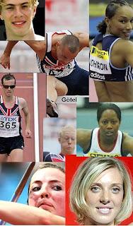 Beijing Olympics : Great Britain Athletics