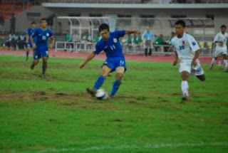 AFC Chellenge Cup 2008 : Sunil Chetri against Myanmar