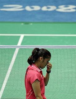 Saina Nehwal : Beijing Olympics