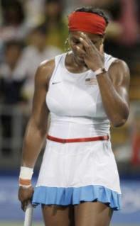 Beijing Olympics : Serena Williams
