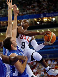 Dwyane Wade against Greece