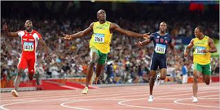 Beijing Olympics : 100 meters FINAL
