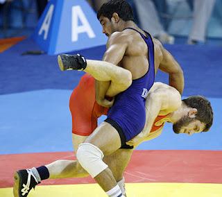Sushil Kumar vs Doug Schwab
