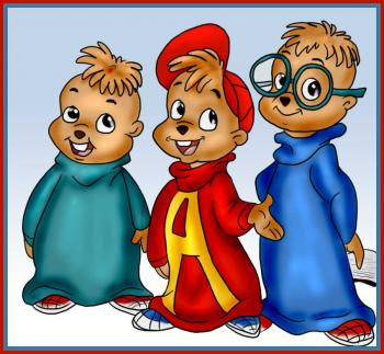 how to draw a alvin and the chipmunks