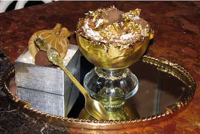 Extraordinary Edible Gold Dessert