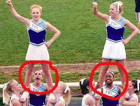 funzone 15 embarrassing moments in cheerleading