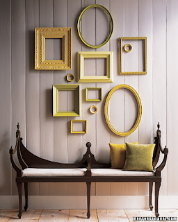 box of idea: wall of frames