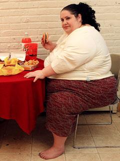 Menurut Donna, meski memiliki berat badan tak normal, namun kondisi