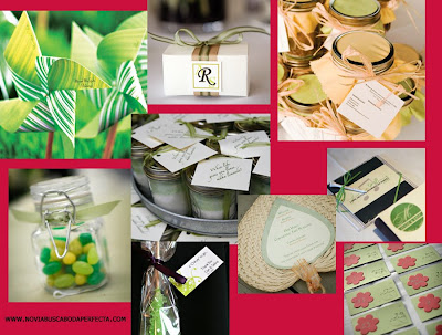 Novia busca boda perfecta boda en verde y blanco for Obsequios de boda
