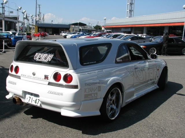 Nissan Skyline GT-R s in the USA Blog: R33 GT-R Wagon