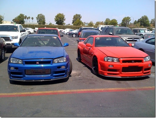 Skyline R34 Blue. Nissan+skyline+r34+fast+