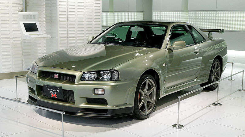 Nissan Skyline GT-R R34 Production Information