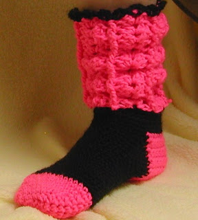 Are your feet cold? These socks will warm you up at AllThingsTangled.etsy.com