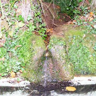 La Fuente del Nora en octubre de 2009