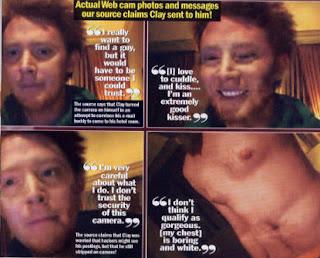 gay Clay aiken not