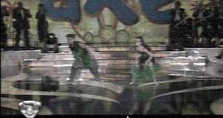 Bailando kids chaco facu y Juliana