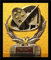 premio TRAYECTORIA EN TRABAJOS ARTÍSTICOS otorgado por Comunideas.Net