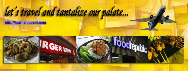 Let's travel and tantalize our palate...