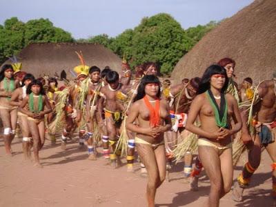 голые племена африки фото