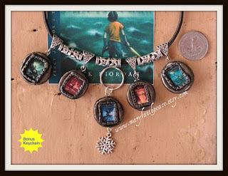 Percy Jackson Necklace Camp Half Blood Beaded Cord