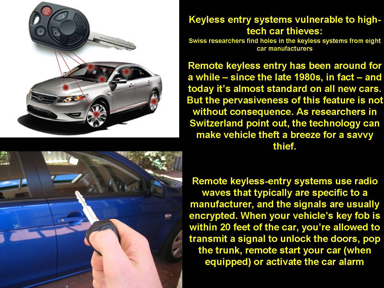 Buick Regal: Remote Keyless Entry (RKE) System