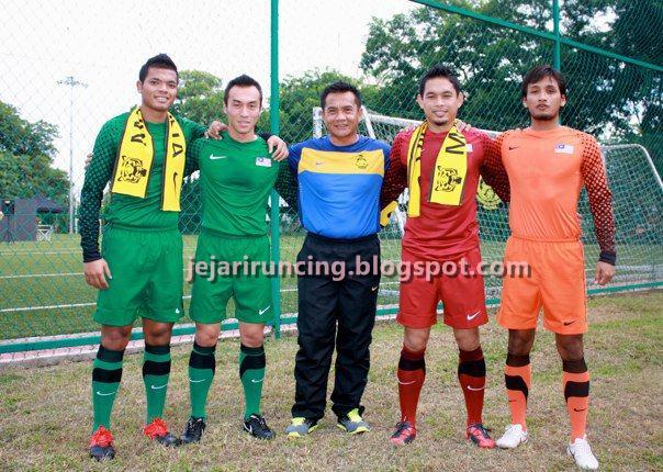 Penjaga Gol/Keeper Nike Baru Pasukan Bola Sepak Malaysia 2010/2011