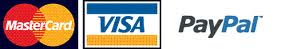 Visa Mastercharge PayPal